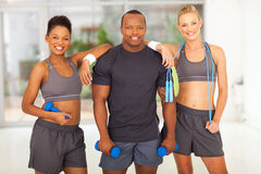 Fitness diversity people Stock Photos