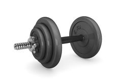 Fitness Dumbbell weight Stock Photo