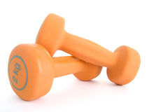 Fitness dumbbells Royalty Free Stock Photos