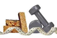 Fitness dumbbells Stock Image