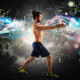 Fitness energy Royalty Free Stock Photo