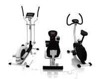 Fitness equipment vector illustration