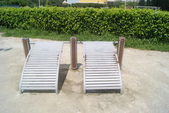 Fitness equipment and facilities, in China Royalty Free Stock Photography