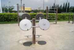 Fitness equipment and facilities, in China Stock Images