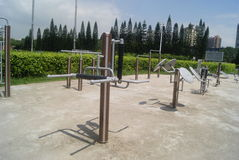 Fitness equipment and facilities, in China Stock Photography