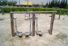 Fitness equipment and facilities, in China Royalty Free Stock Image