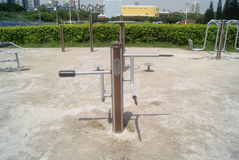 Fitness equipment and facilities, in China Royalty Free Stock Photo