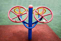 Fitness Equipment. Is a good tool for people to exercise, and it is each person's favorite toy stock photography