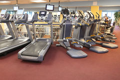 Fitness equipment Royalty Free Stock Photography