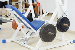 Fitness equipment Royalty Free Stock Images