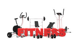 Fitness equipment 2 Royalty Free Stock Photos