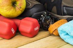 Fitness equipment Stock Photos
