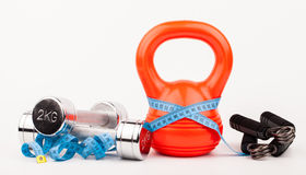 Fitness equipment Stock Photos