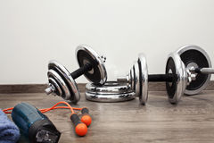 Fitness equipment Royalty Free Stock Photo