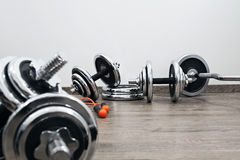 Fitness equipment Royalty Free Stock Photos