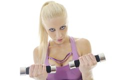 Fitness exercise Stock Photos