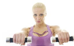 Fitness exercise Stock Photography
