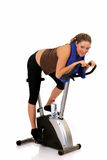 Fitness exercise Stock Photo