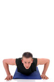Fitness exercise Royalty Free Stock Images