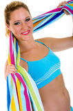 Fitness exercise Stock Image