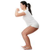 Fitness exercises Royalty Free Stock Images