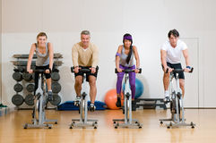 Fitness exercising Stock Photography