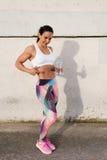 Fitness fat burning workout success Stock Photo