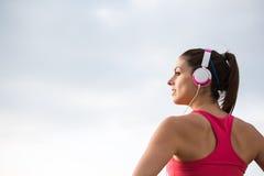 Fitness female athlete Stock Photo