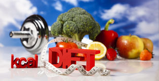 Fitness Food, diet Stock Image