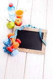 Fitness frame Royalty Free Stock Images