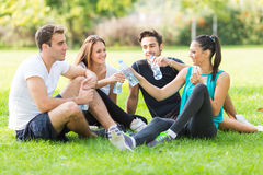 Fitness Friends Stock Image