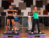 Fitness friends Stock Photo