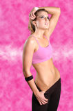 Fitness girl Stock Photo