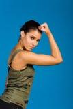 Fitness girl Royalty Free Stock Photos
