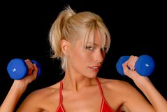 Fitness Girl Stock Photos