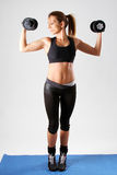 Fitness girl Royalty Free Stock Image