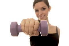 Fitness girl. Stock Photography