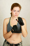 Fitness girl portrait Royalty Free Stock Photography