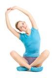 Fitness girl posing Royalty Free Stock Photos