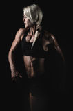Fitness girl Royalty Free Stock Images