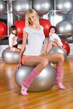 Fitness girls Royalty Free Stock Photography