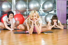 Fitness girls Royalty Free Stock Image