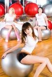 Fitness girls Royalty Free Stock Photos