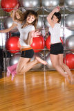Fitness girls Royalty Free Stock Photo