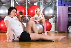 Fitness girls Stock Photo