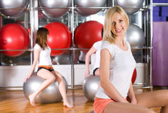 Fitness girls Royalty Free Stock Photos