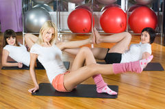 Fitness girls Royalty Free Stock Images