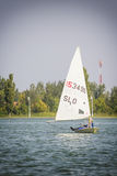 Regatta Vintage Days 2015 in Lake Palic Stock Photography
