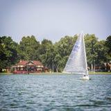 Regatta Vintage Days 2015 in Lake Palic Royalty Free Stock Photo