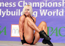 Fitness Goddess Royalty Free Stock Photography